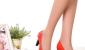 2012新款百丽正品糖果色漆皮蝴蝶结鱼嘴鞋高跟鞋女凉鞋K5L1