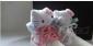 2012Hello Kitty x UBIQ合作新款潮鞋 限量版鞋 公仔超萌白板