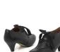 321抢货节2012春款粗中跟系带职业深口鞋全牛皮女单鞋女鞋3SX22